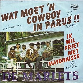 foto van Wat moet een cowboy in Parijs!! van De Marlets