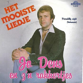 foto van Het mooiste liedje van Jo Dens