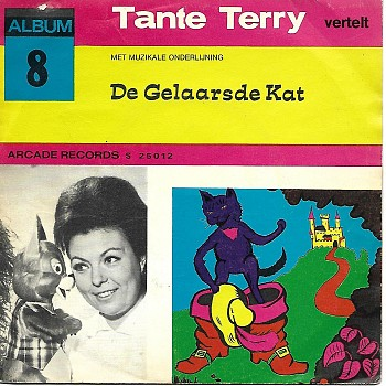 foto van Album 8 De gelaarsde kat (single) van Tante terry