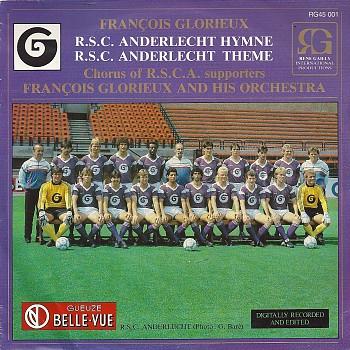 foto van François Glorieux R.S.C.Anderlecht hymne van Voetbal