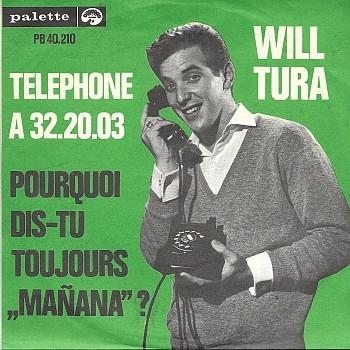 foto van Telephone à 32.20.03 van Will Tura