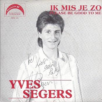 foto van Ik mis je zo van Yves Segers