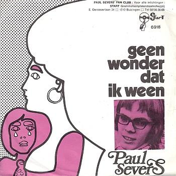 foto van Geen wonder dat ik ween van Paul Severs