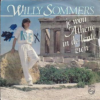 Willy Sommers - Jij Wou Athene In De Lente Zien